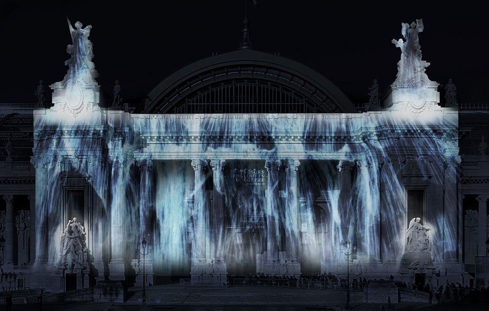 Universe of Water Particles , Paris, 2015