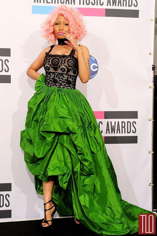 Image via Tom and Lorenzo, Nicki Minaj at the American Music Awards