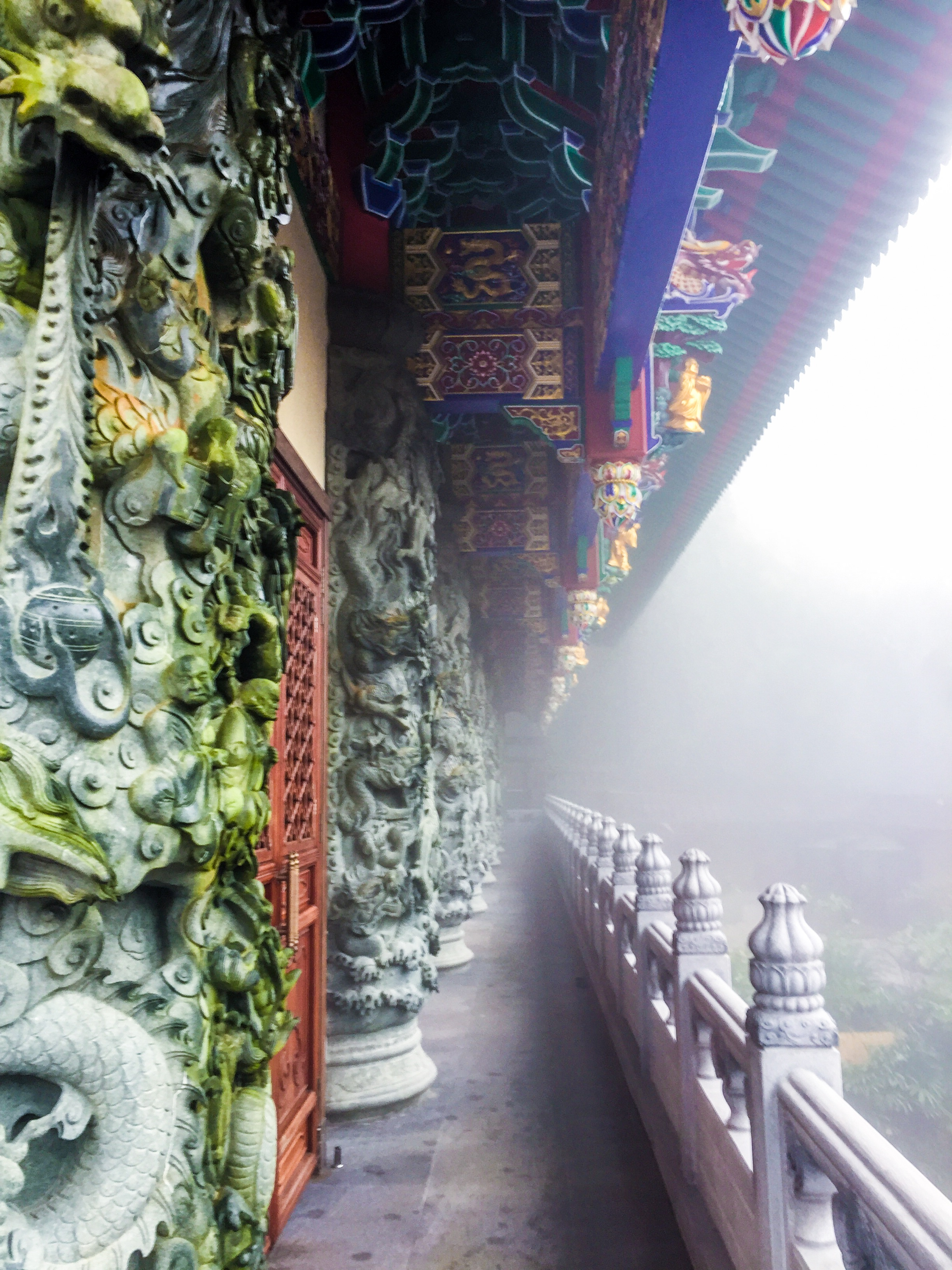 Details of Po Lin Monastery