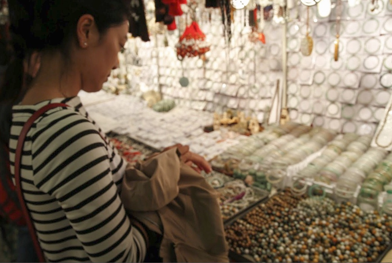 Shopping the Jade Market