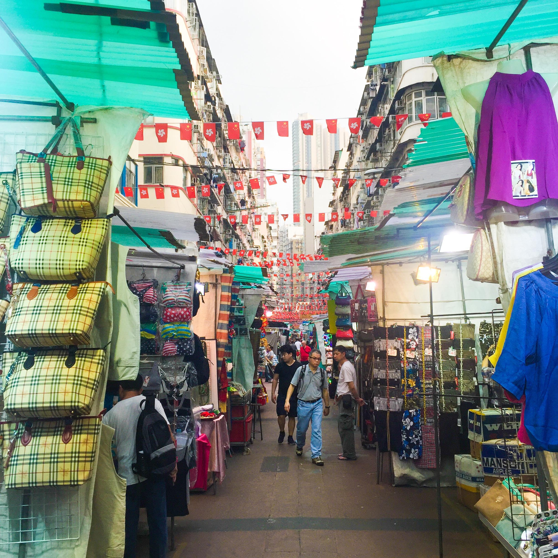 Temple Street Night Market, Kowloon