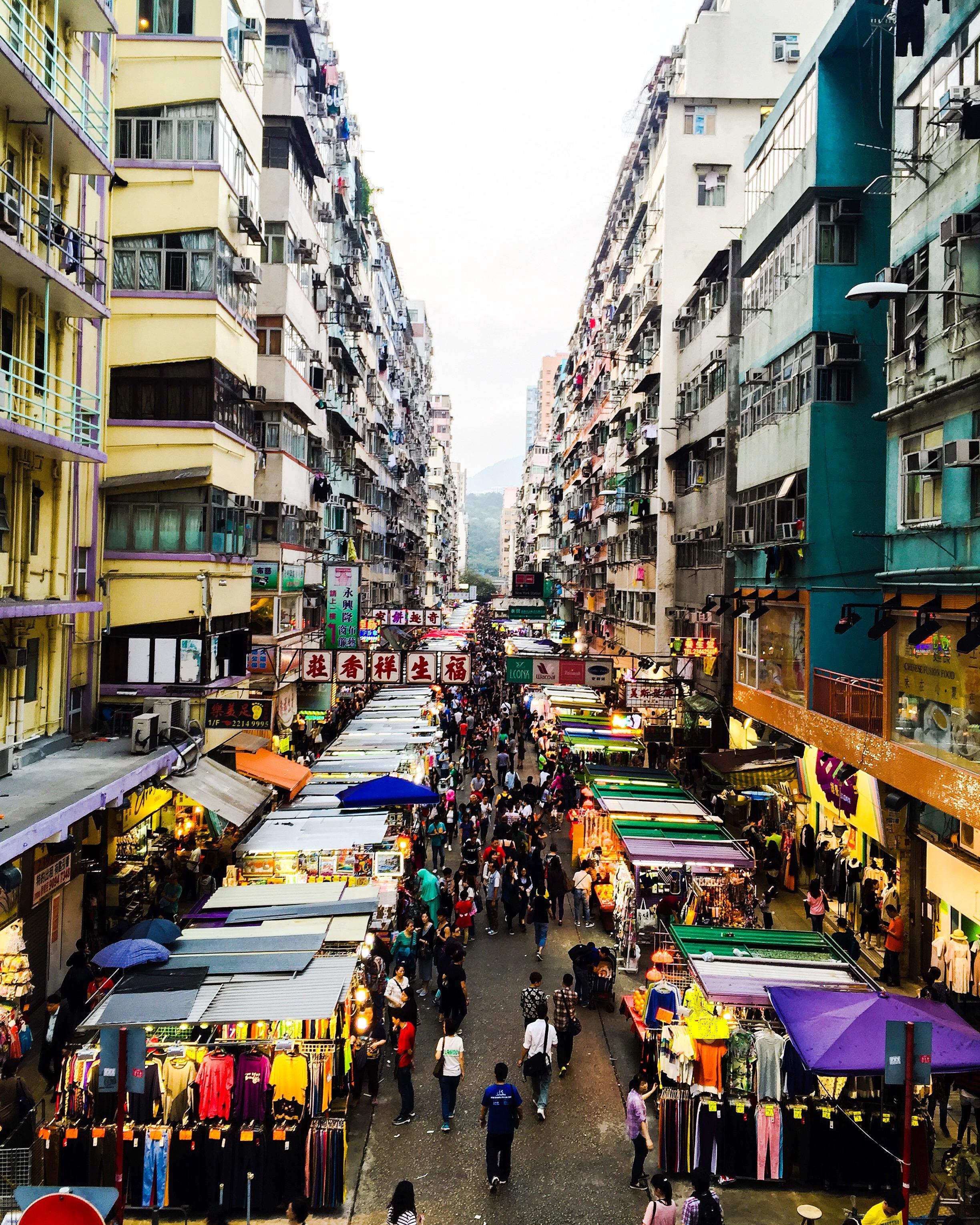 Fa Yuen Street   in Mongkok, Kowloon