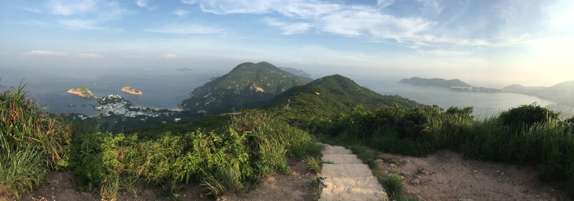 Dragon Back Trail Views
