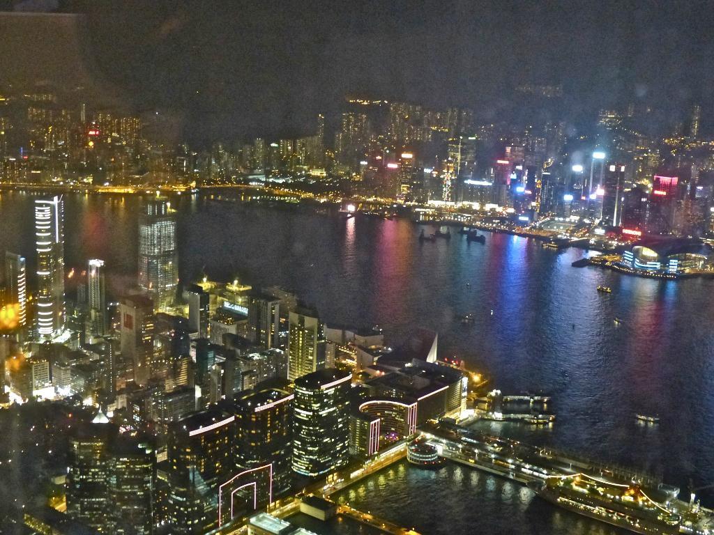 Nighttime Ozone Bar Views