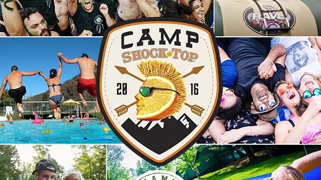 Camp Shock Top via Shock Top
