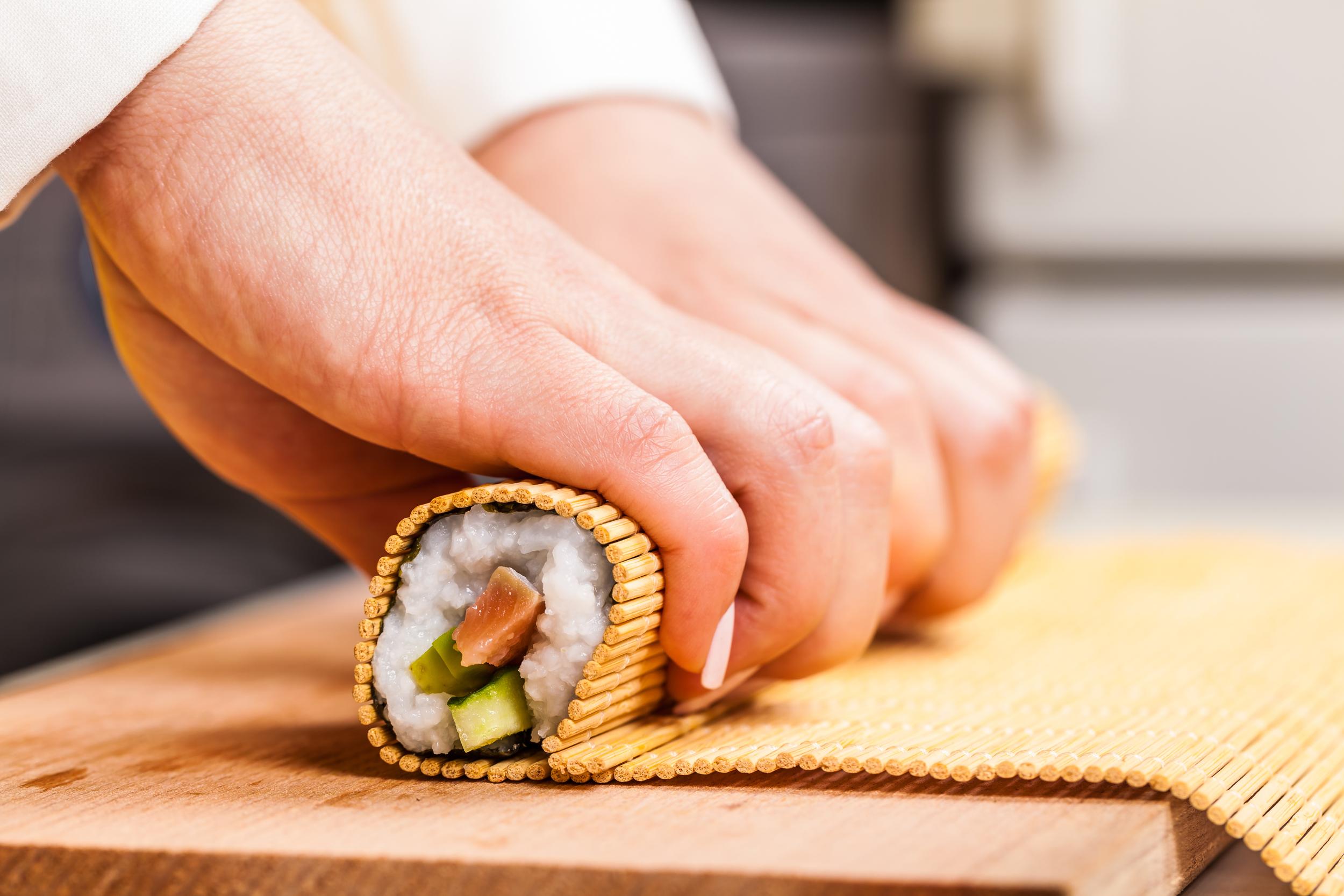 Liebevolle Handarbeit im Noriko Sushi in Biberach