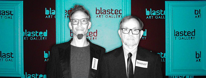 November 2017 - Chris Beards & Bill Shelley at Blasted Art Gallery, SOFA Arts District, Santa Rosa, CA