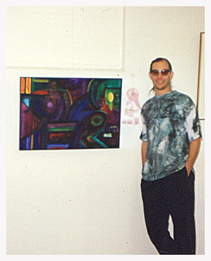 1991 - My first juried show. Honorable Mention award for this fine acrylic painting at Sacramento Fine Arts Center.