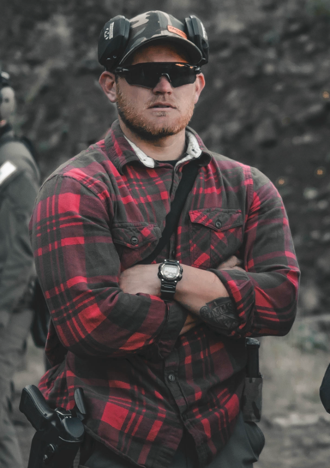 Tyler Wamre - Tyler is a USMC Veteran with two deployments to the Middle East. During his deployments as Radio Chief, Tyler conducted numerous fire missions in support of ground troops. Tyler is currently a Local Police Officer graduating as Top Shot of his Academy. Tyler is assigned to the proactive downtown enforcement team. Tyler is also a Swat Operator within his department. Tyler is dedicated to constantly evolving training for himself and his students and ensures that students get the individual attention needed for growth while ensuring students train in a safe environment.
