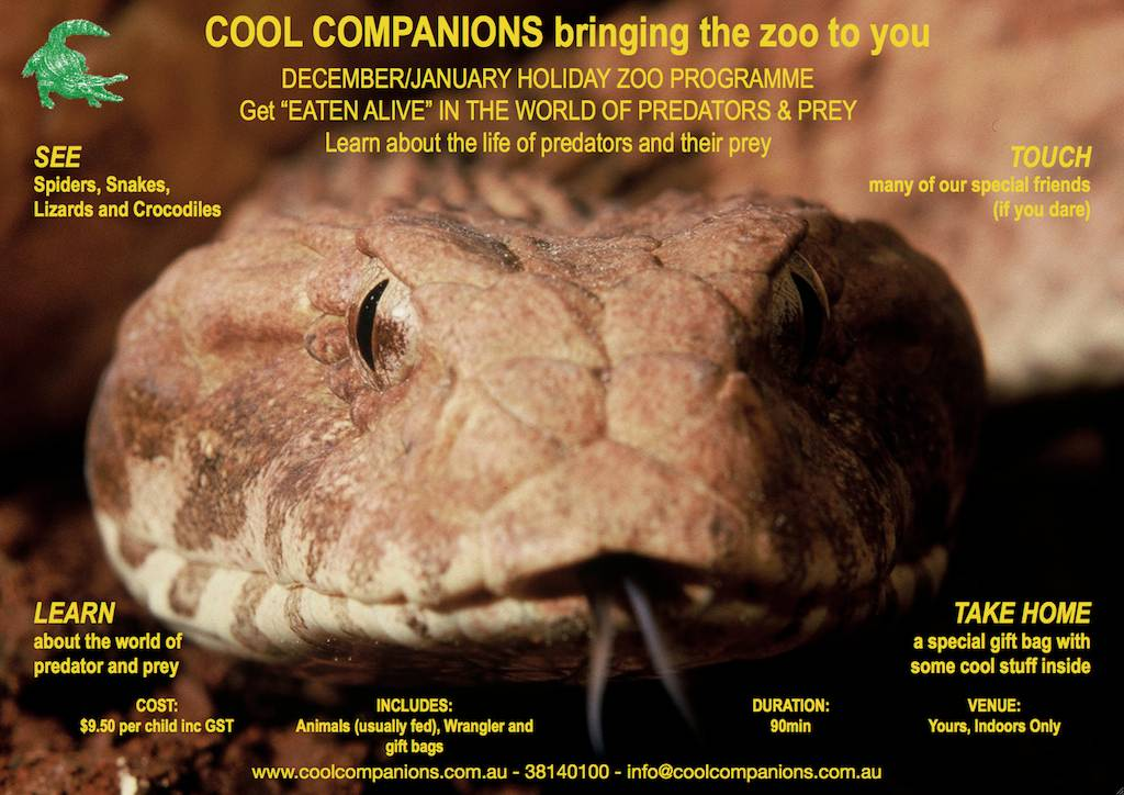 Eaten Alive! – the world of predators