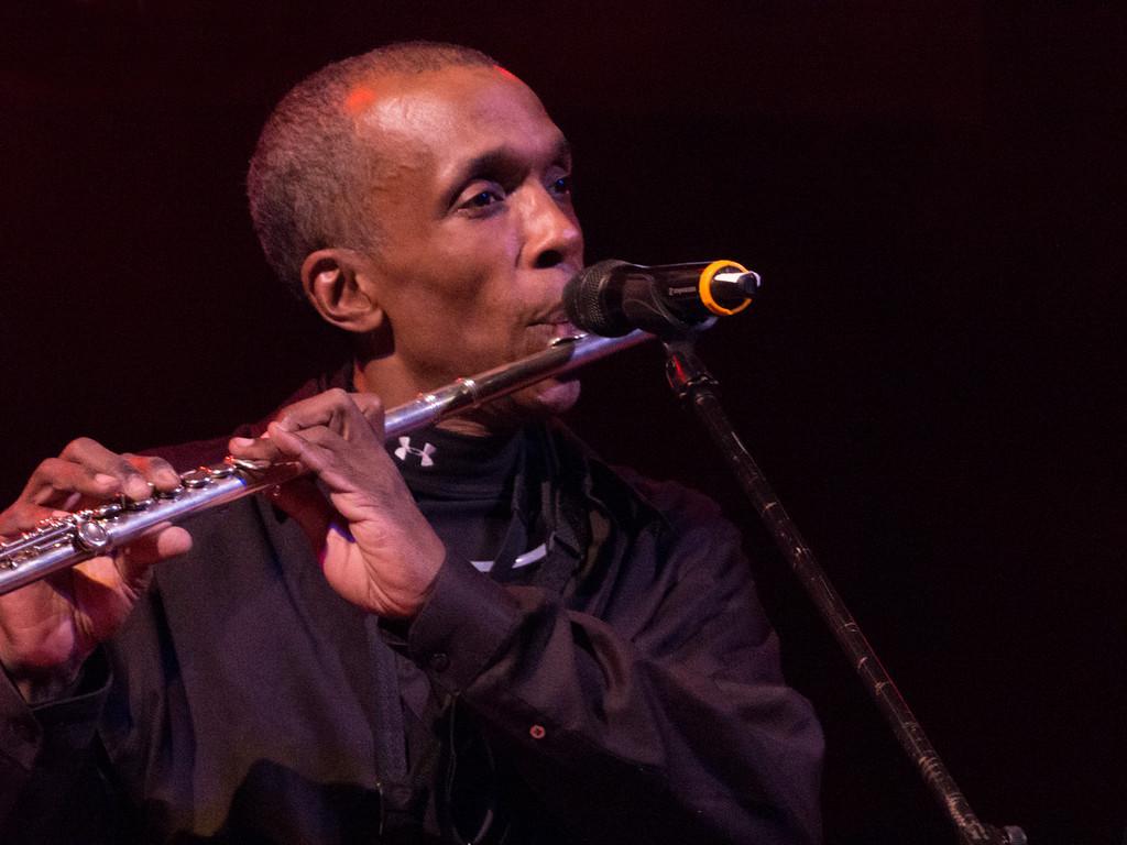 Darwin Winston - Sax, Flute, Percussion