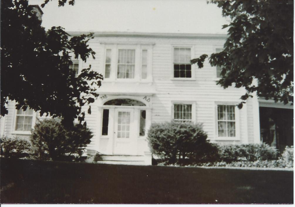 Major Phillip P. Dater. C.1798. Brunswick Road, Eagle MIlls
