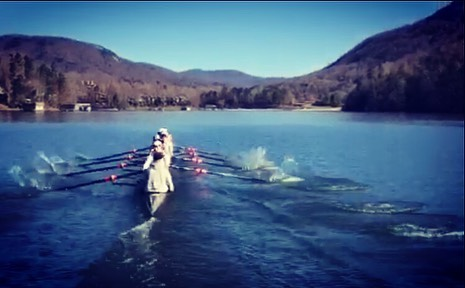 Huge thanks to @columbia_lightweight_rowing for letting us come kick it with you guys for a morning in the Old North State. #theboysinblue #ourblueisbest #homefieldadvantge