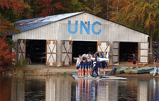 Pictured: Michael Nicholls Boathouse - University Lake