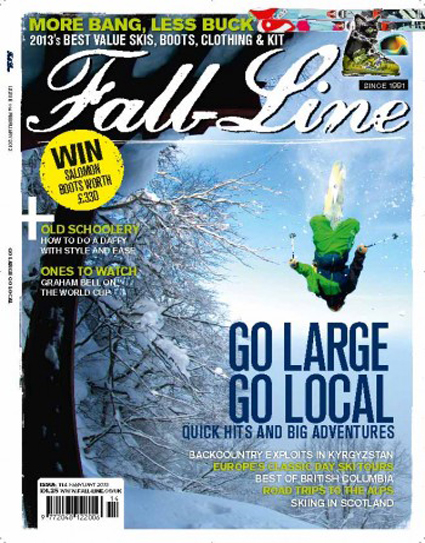 DECEMBER 2017    FALL-LINE SKIING     UK