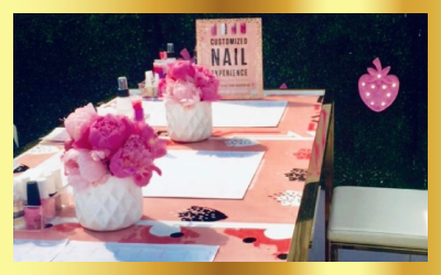 NAIL BAR ACTIVATIONS -