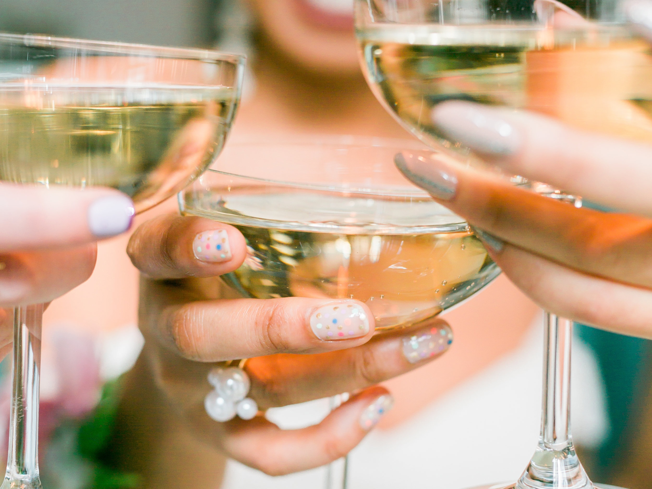 ON-SITE NAIL & CHAMPAGNE EXPERIENCES - Get glam with The Nail & Champagne Bar