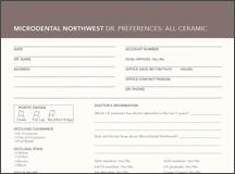Dr. Preferences