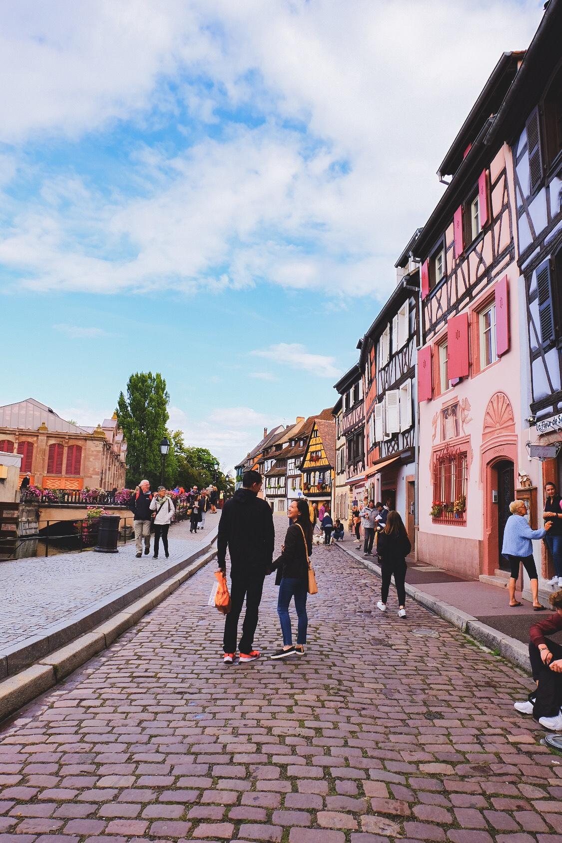 Colmar streets