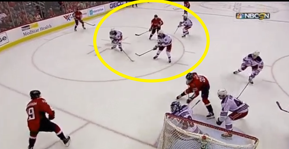 Marc Staal, player of 859 NHL games, circled.