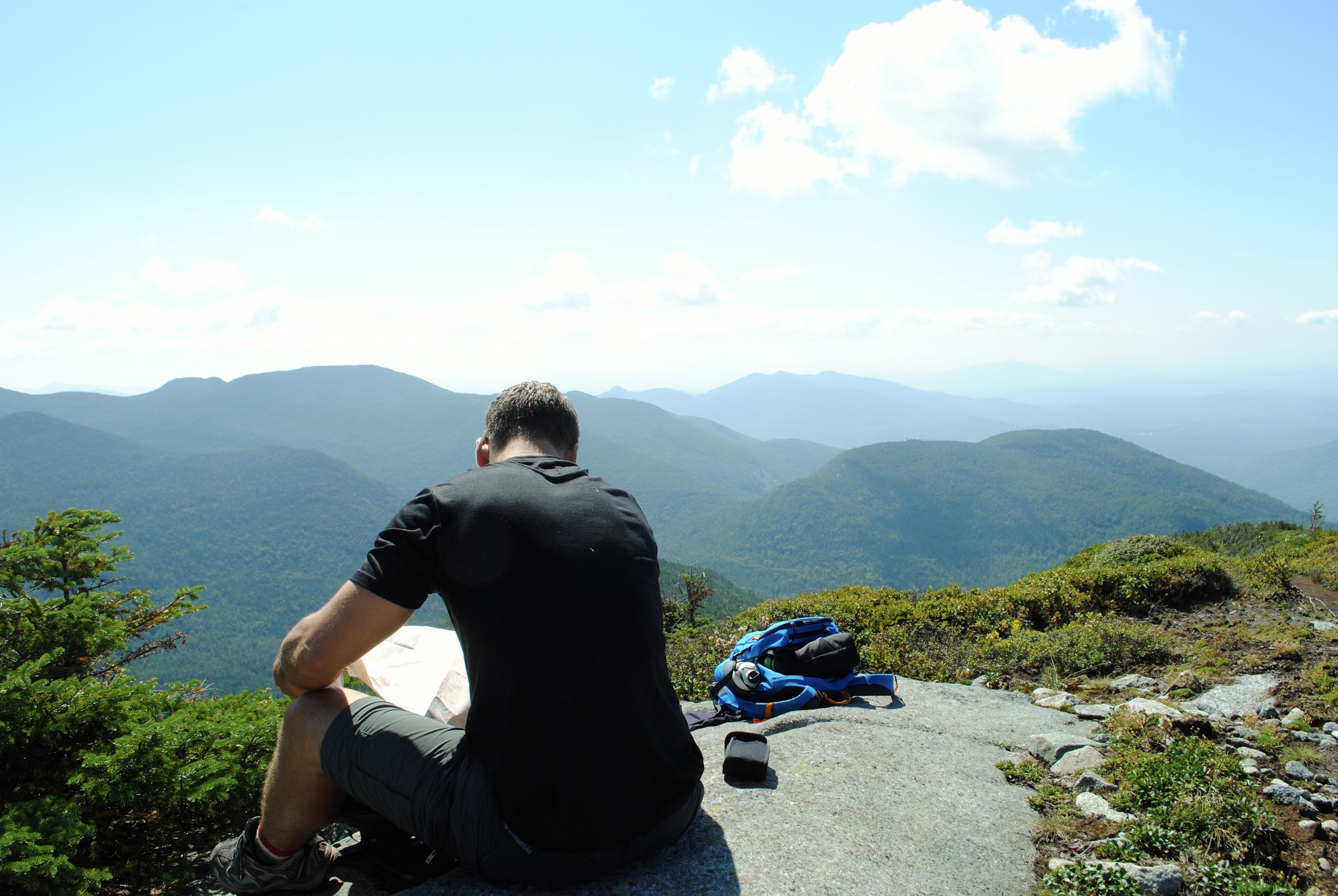 Mountain breaks are always well needed - Mount Colden