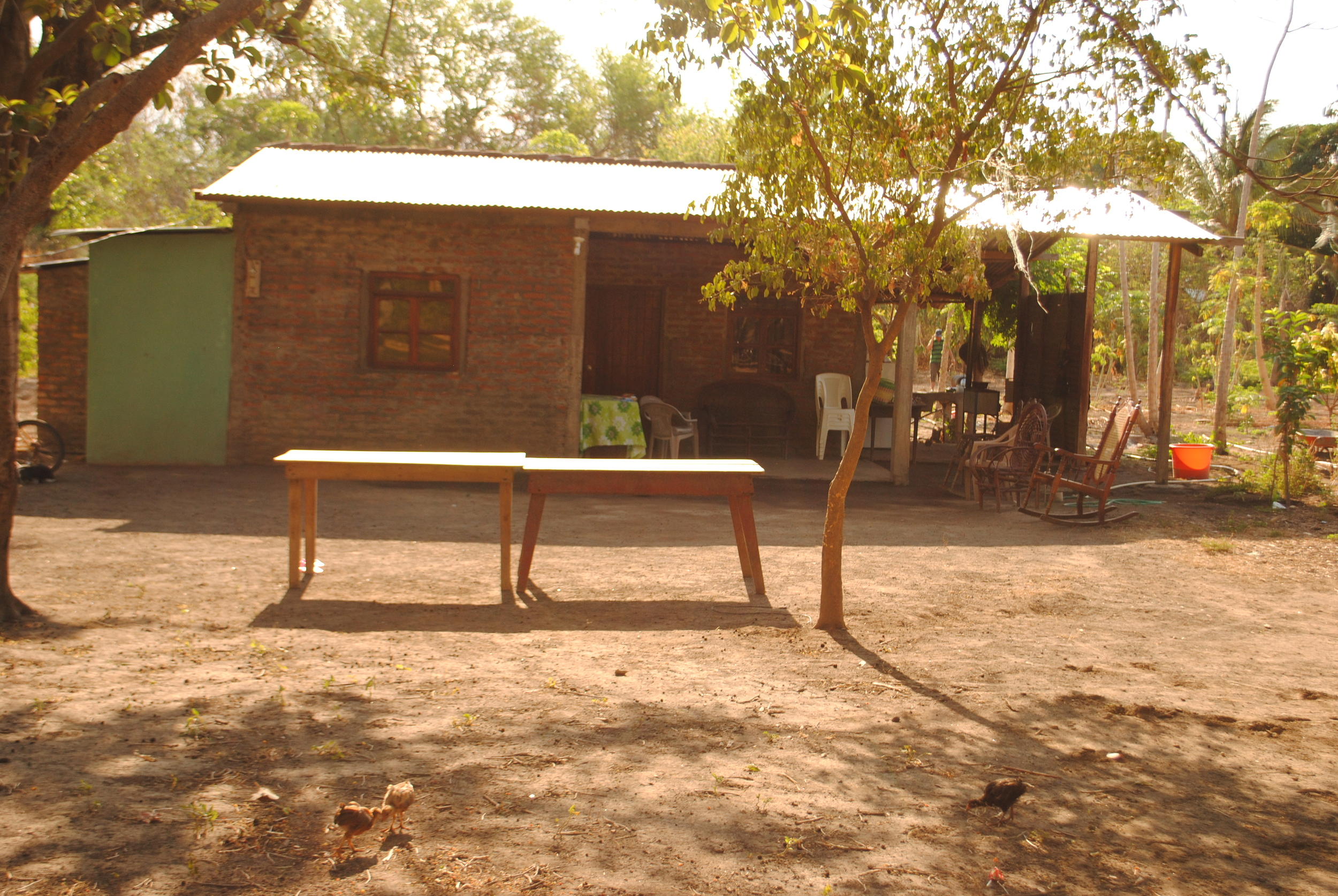 Our very humbling homestay in Ometepe - a lovely experience