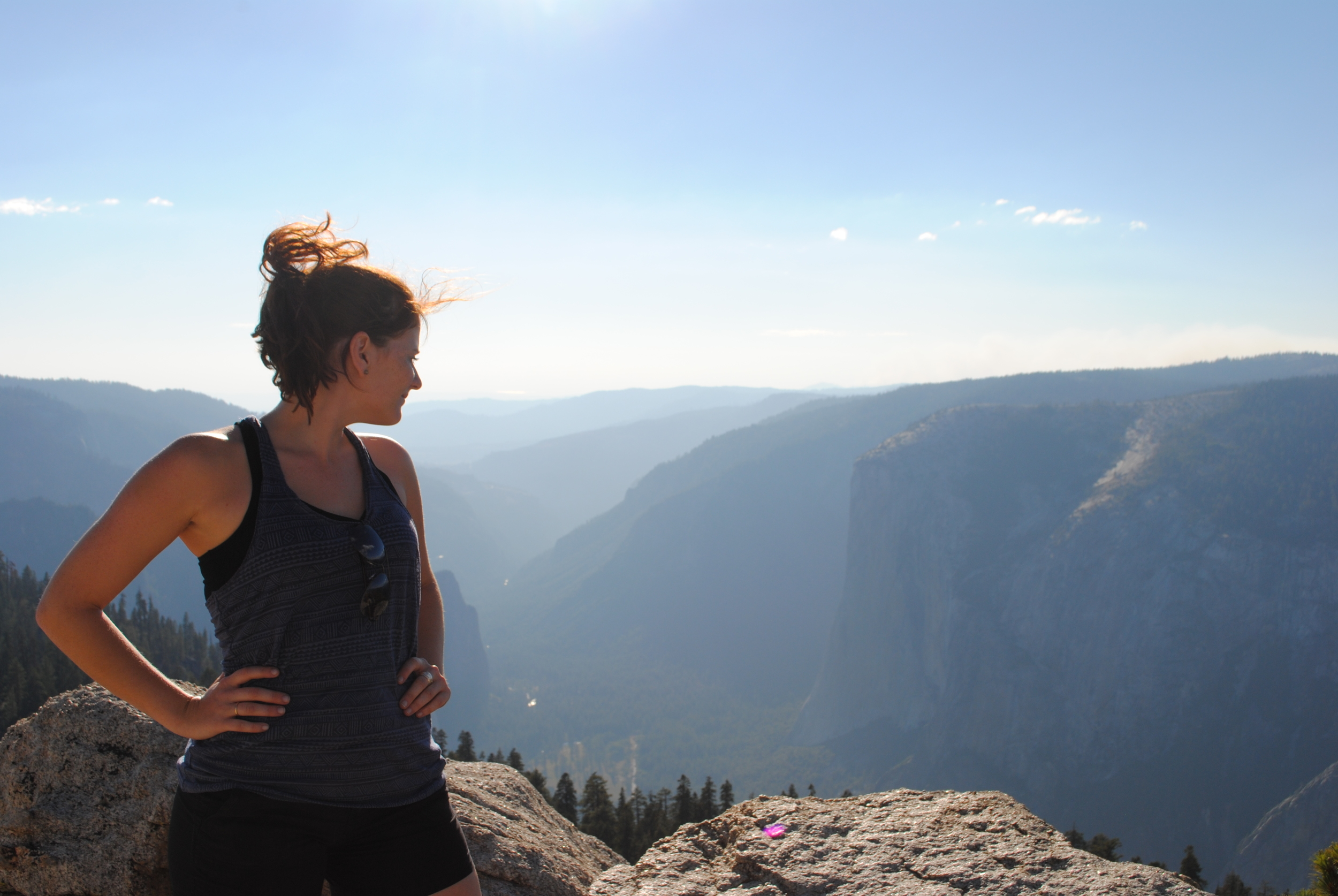 Our warm up hike of Sentinel Dome