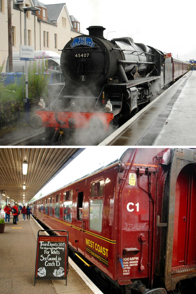 All aboard the Jacobite Steam Train!