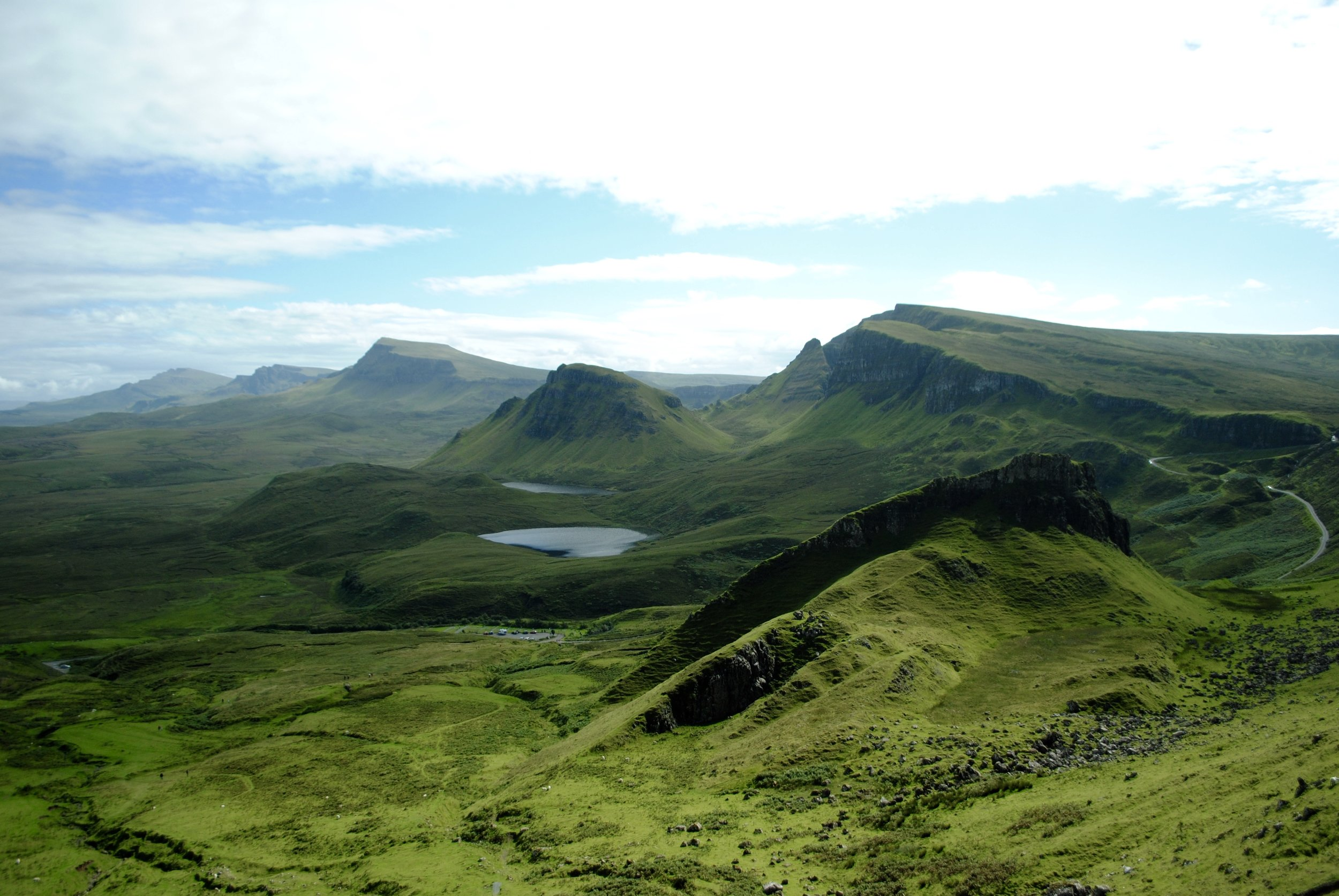 The Quirang - my favourite hike of the whole Scotland trip.