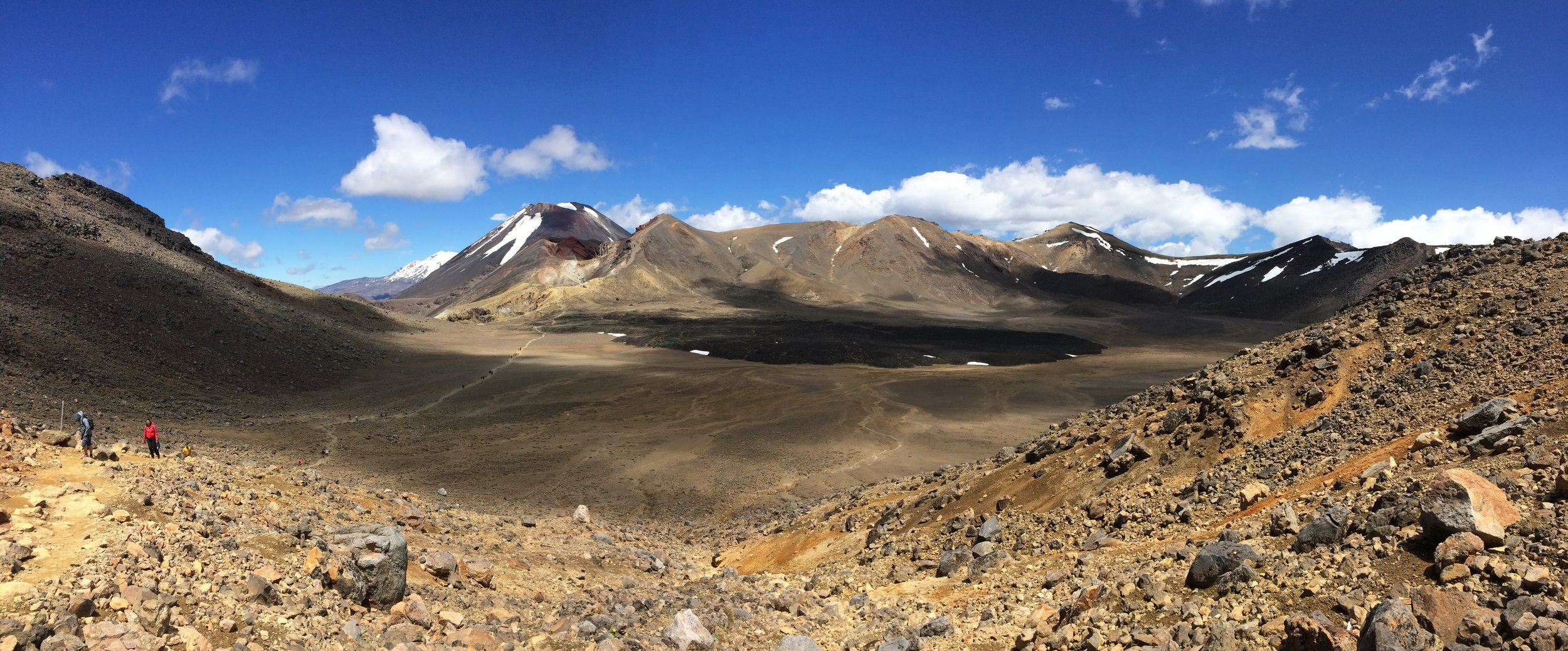 Another amazing view on the Tongariro - this is only a mere glimpse at the beauty of this hike.