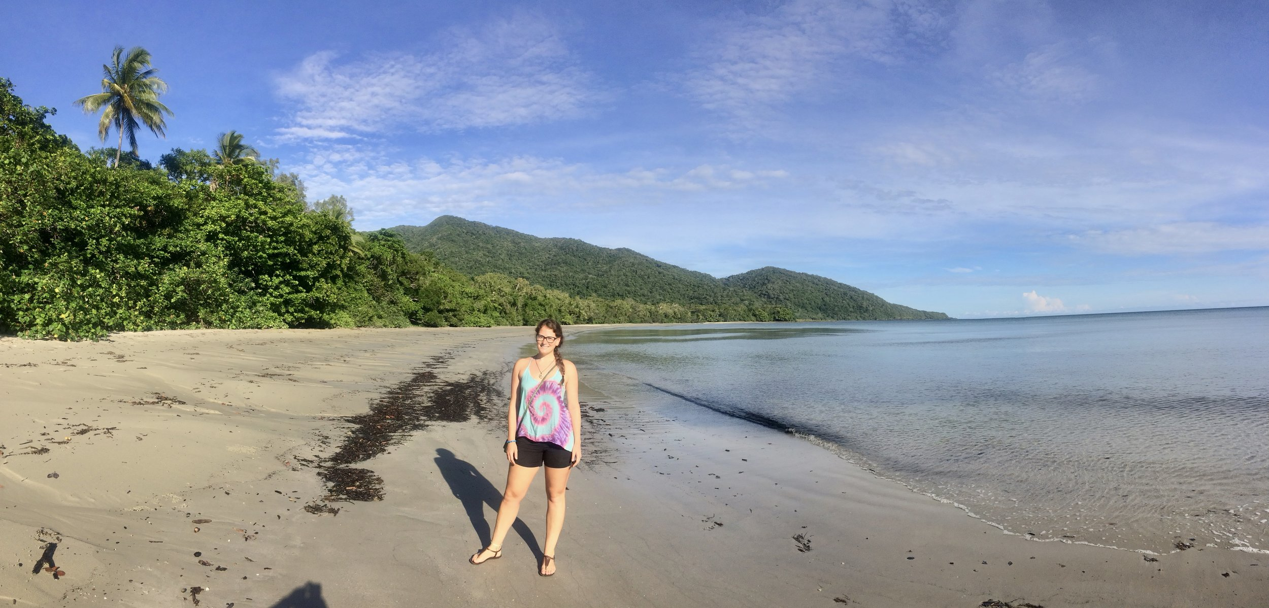 Cape Tribulation beach.