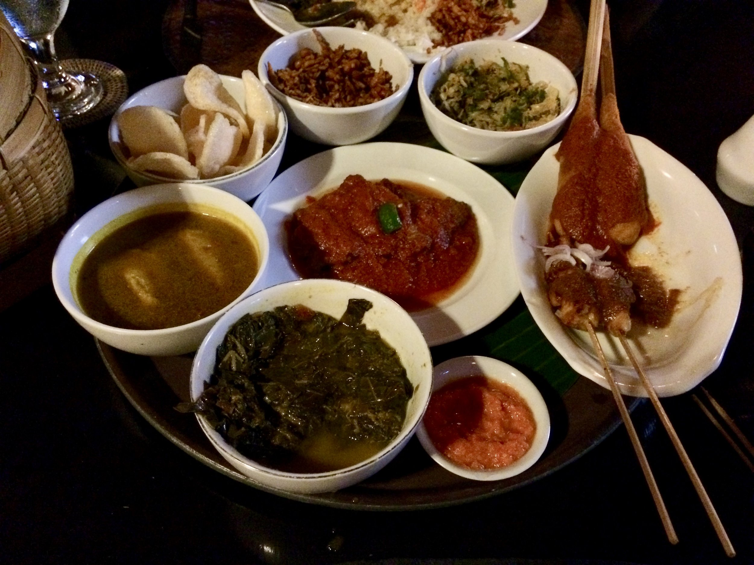 Platter for two! A great way to get a taste for all the local and Indonesian favourites!
