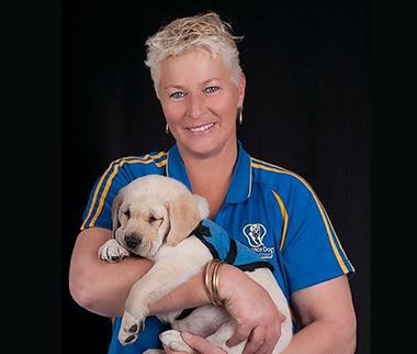 Julie Hancox - Assistance Dogs NZ Trust Founder