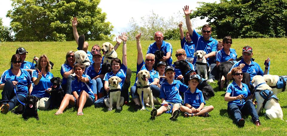 """ASSISTANCE DOGS NZ   """"By helping the fundraising efforts of our families, you are significantly reducing their stress and ensuring they are better able to commit to the process of integrating a new member into their family.""""  Julie Hancox, Assistance Dogs"""