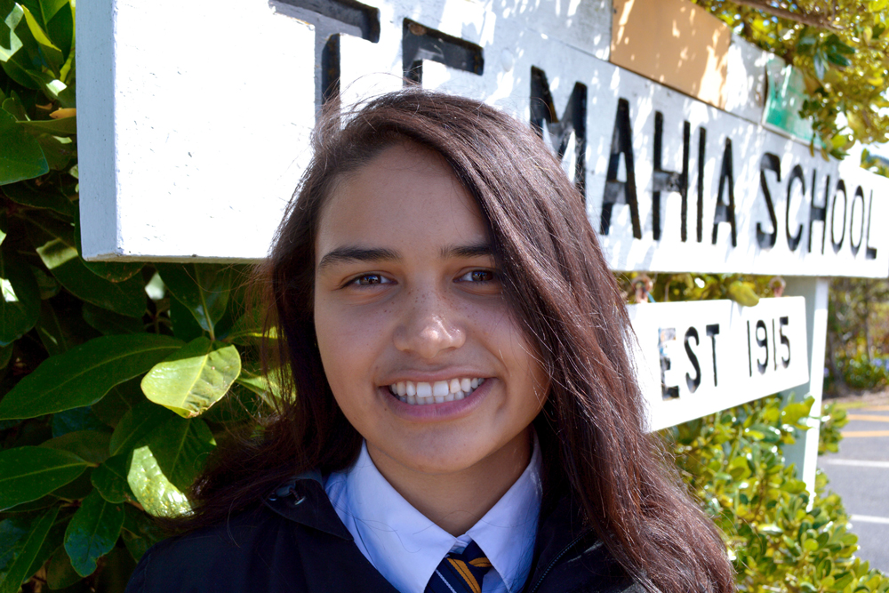Arianna Ormond the recipient of The Rocket Lab Inaugural Tertiary Scholarship