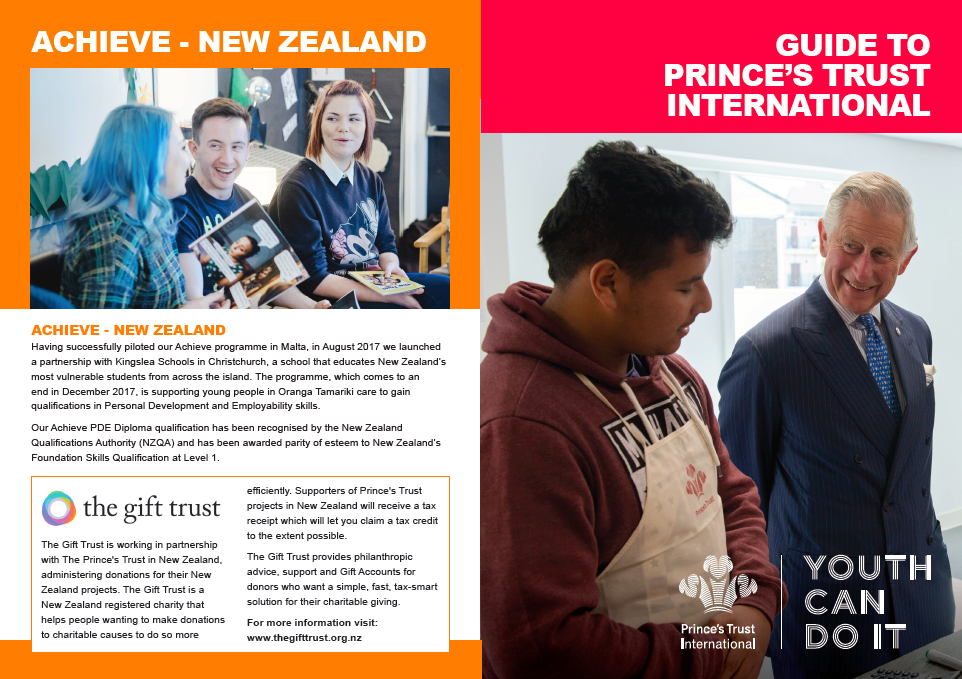 The Prince's Trust International - The Gift Trust Blog