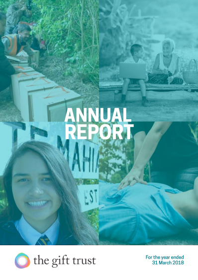 The Gift Trust Annual Report 17/18