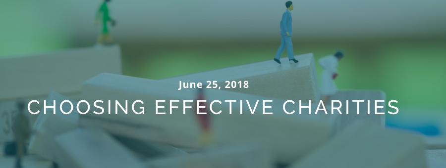 Choosing Effective Charities