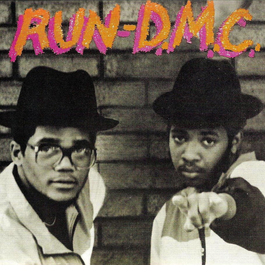 Cey Adams, graffiti artist and designer, did the hand-lettering on Run-DMC's self-titled debut (1984). He is often mistakenly given credit for Nash's mark.