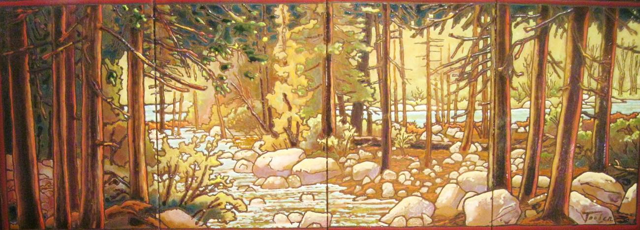 YR29--Tauber, Mike, Deep Woods at Yosemite Falls.jpg
