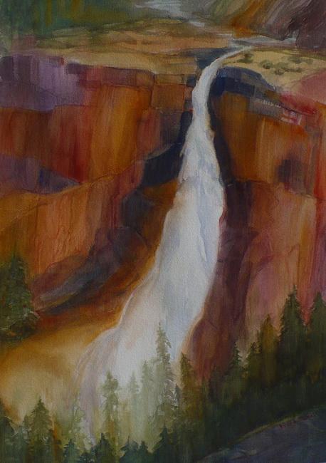 YR29--Thomas, Vicki, Cascading Nevada Falls.jpg