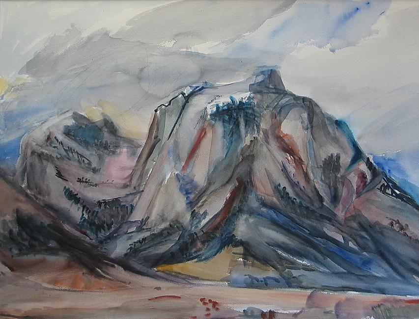 YR28--Culp, Jane, Lone Pine Mountain, Storm Coming In.jpg
