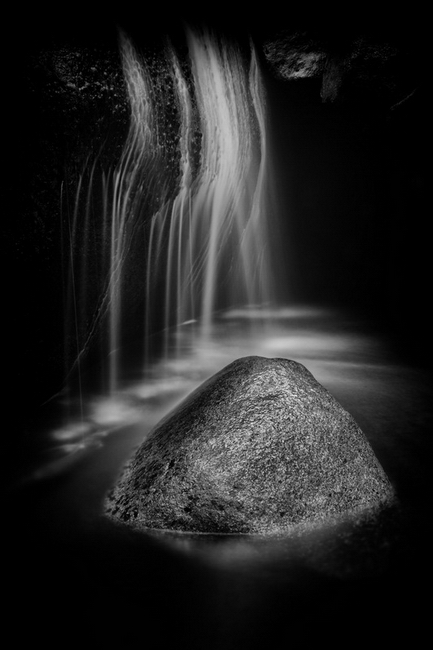 YR28--Saunders, Ronald Cascade Creek Rock and Falls.jpg