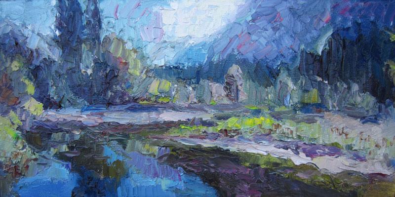 <i><b>Yosemite Reflections Redux,</i></b> Carol Steinberg
