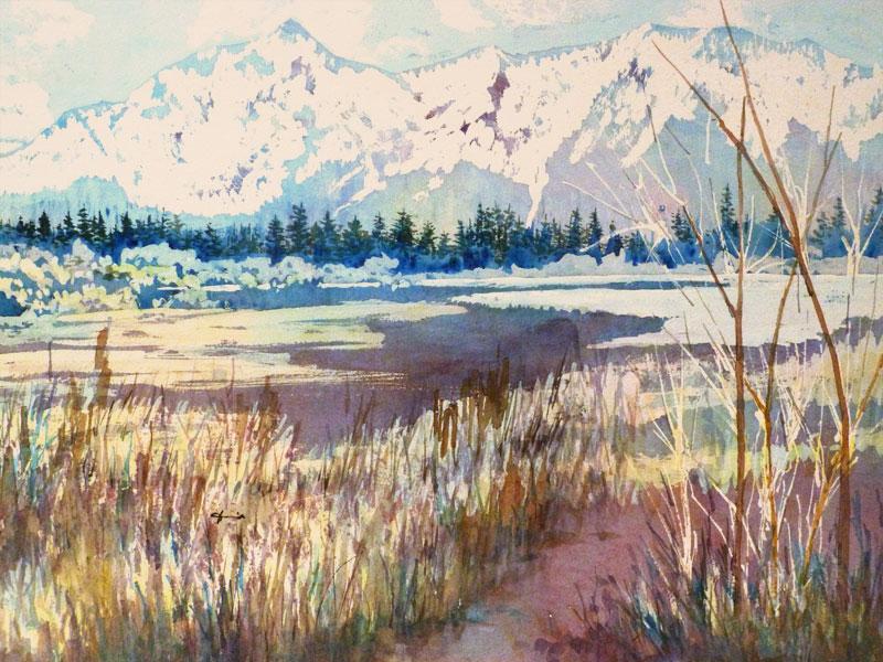 <i><b>Cascade Creek,</i></b> Betty Hendrix
