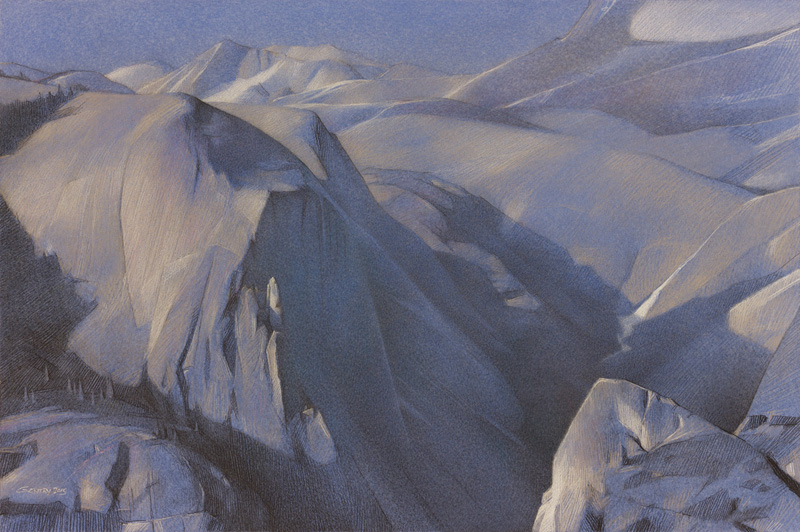 <b><i>Mount Watkins From Glacier Point,</b></i> Kit Gentry