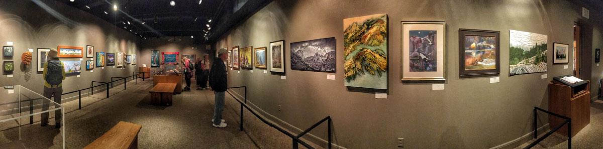 Yosemite Renaissance 31 (2016) Exhibit at the Yosemite National Park Museum