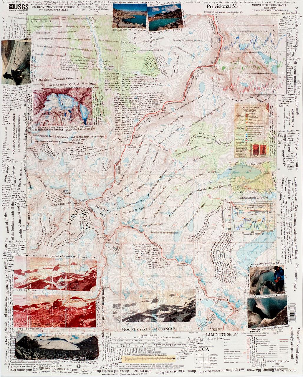 <b><i>Glacier Survey Quadrangle</b></i> Bonnie Peterson
