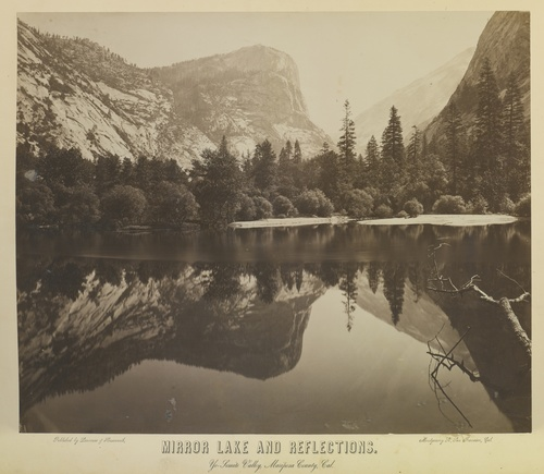 Mirror Lake and Reflections, Charles L. Weed (1864)