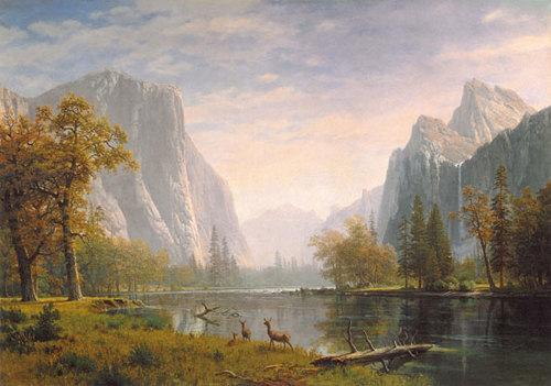 Yosemite Valley, Albert Bierstadt (1863 – 75)